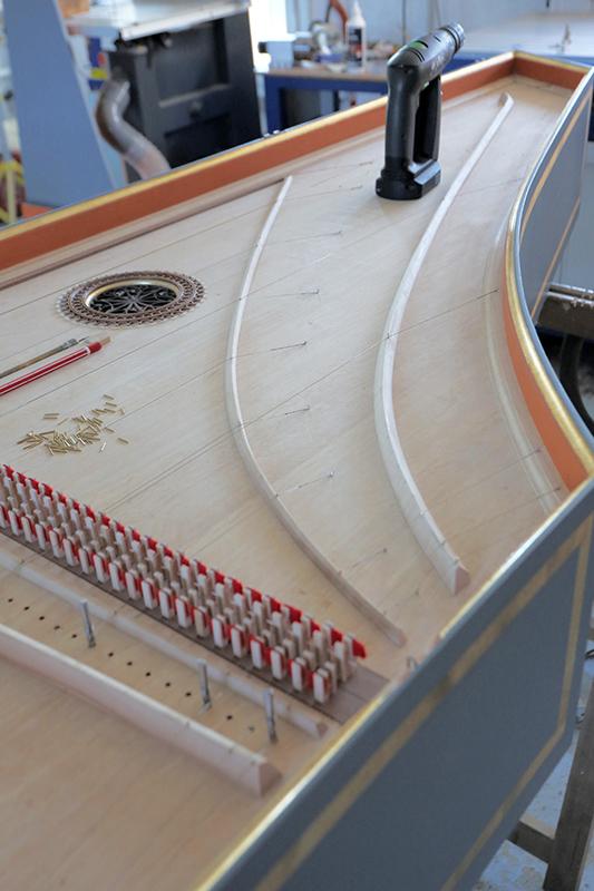 [Lutherie] Fabrication d'un clavecin. - Page 27 30_jui22