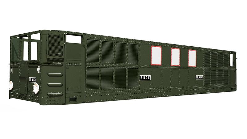 Locomotive électrique BB 4100/4600 SNCF ex MIDI en zéro. Bb_41010