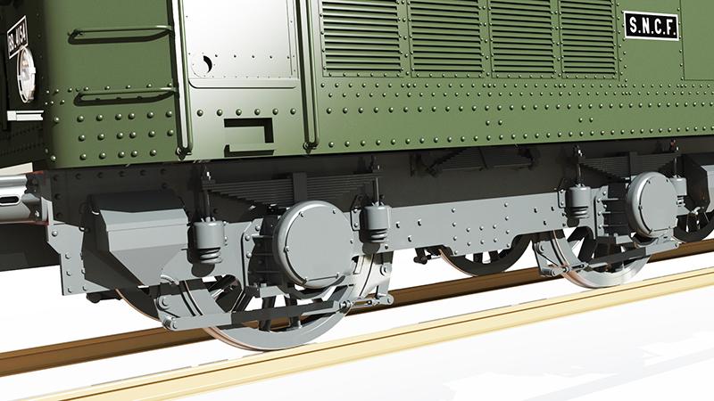Locomotive électrique BB 4100/4600 SNCF ex MIDI en zéro. - Page 2 Bb_41029