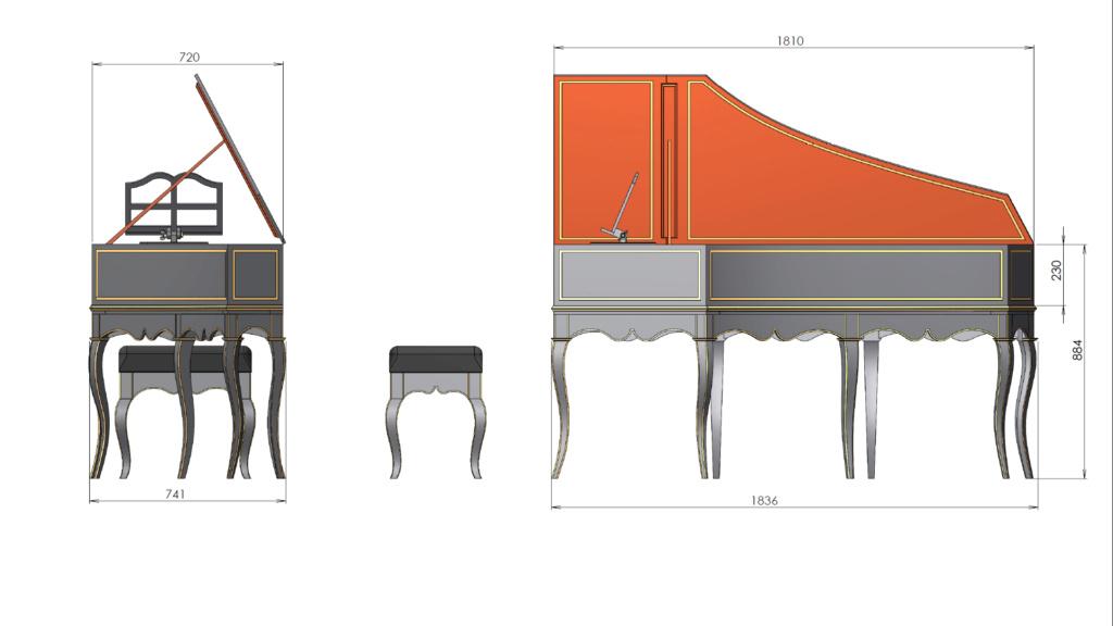 [Lutherie] Fabrication d'un clavecin. - Page 10 Clavec32