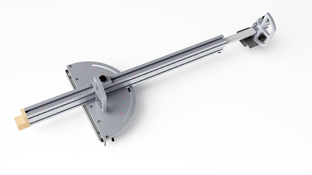 [Fabrication] Guide de coupe angulaire pour scie à format II Guide_13