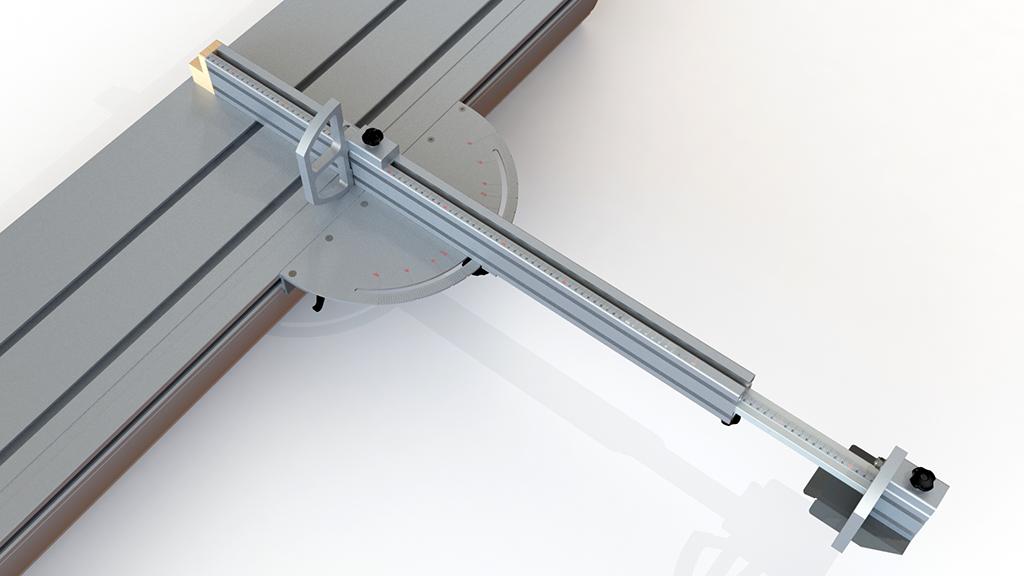 [Fabrication] Guide de coupe angulaire pour scie à format II Guide_15