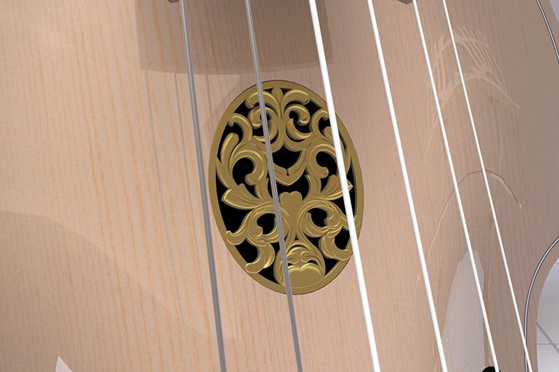 Basse de viole en noyer et à six cordes - Page 5 Viole_19