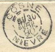 Levée spéciale Cosne110