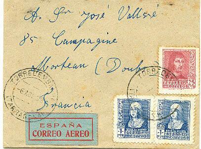 1940 Lettre d'Alsace à un prisonnier dans l'Yonne Cte10