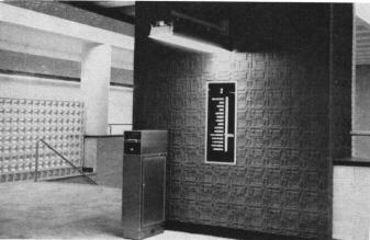 Vieux Billet de la commision des transport de Montréal 1966 Metro10