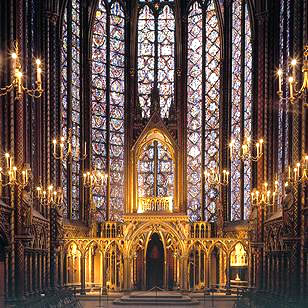 Art gothique de Paris (et des environs) Sainte13