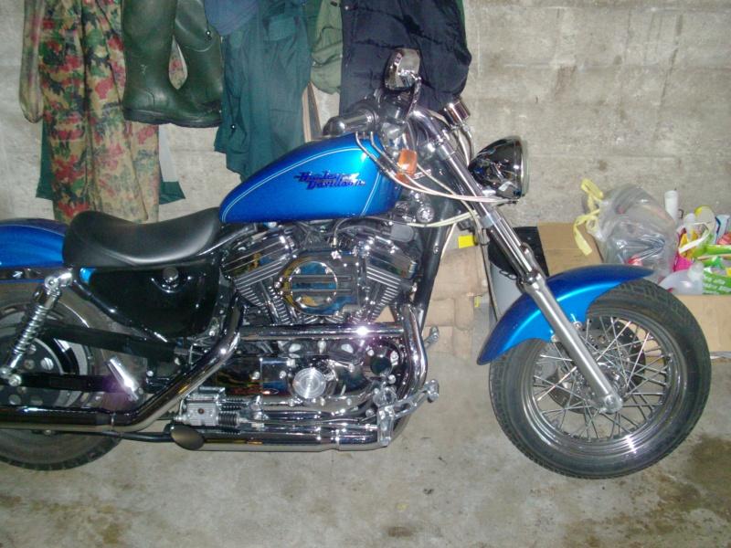 Mon garage à un locataire ! Sporster 1200 Hpim0713