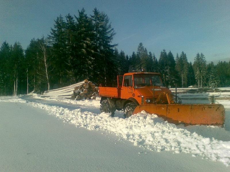 photos unimog chasse neige 11022010
