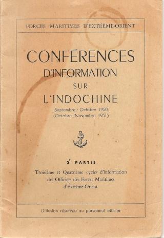 Conférences d'information sur l'Indochine Numari70