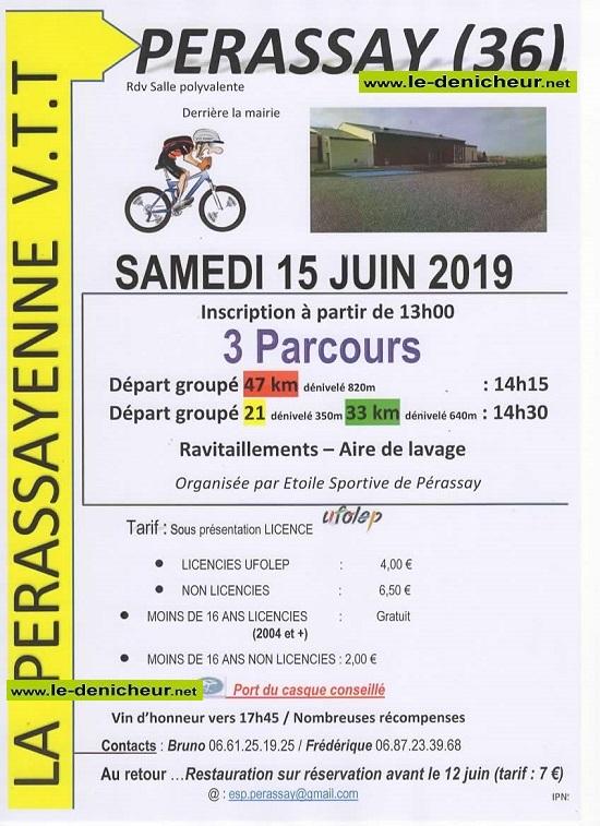 r15 - SAM 15 juin - PERASSAY - Randonnée VTT */ 0011147
