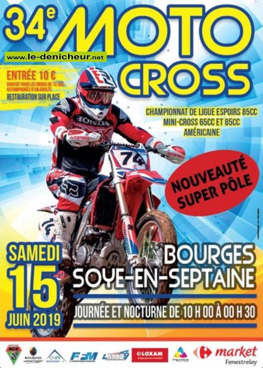 r16 - DIM 16 juin - SOYE en SEPTAINE - 34ème Moto Cross * 0011277