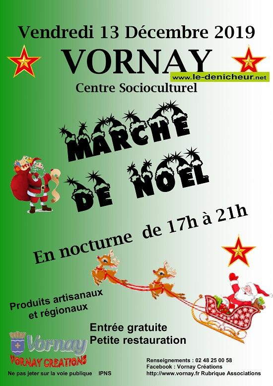 x13 - VEN 13 décembre - VORNAY - Marché de Noël de Vornay Créations.*/ 0011285