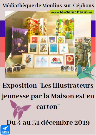 x31 - Jusqu'au 31 décembre - MOULINS /Céphons - Les illustrateurs jeunesse (exposition) 0011360