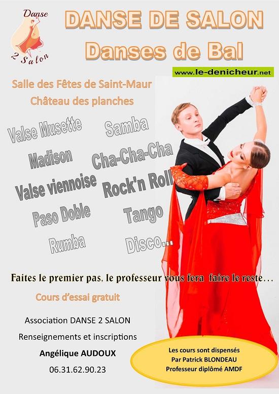 SEPTEMBRE 2019 - ST-MAUR - Danse de salon _* 0011631