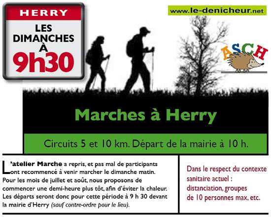 j25 - DIM 25 octobre - HERRY - Marche * 0011708