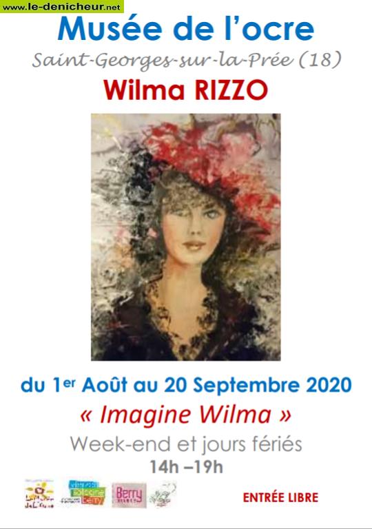 """i20 - Jusqu'au 20 septembre - ST-GEORGES /la Prée - Exposition """"Imagine Wilma"""" 0011711"""
