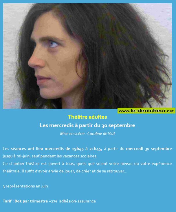 j21 - MER 21 octobre - ST-AMAND-MONTROND - Atelier théâtre adultes 0011765