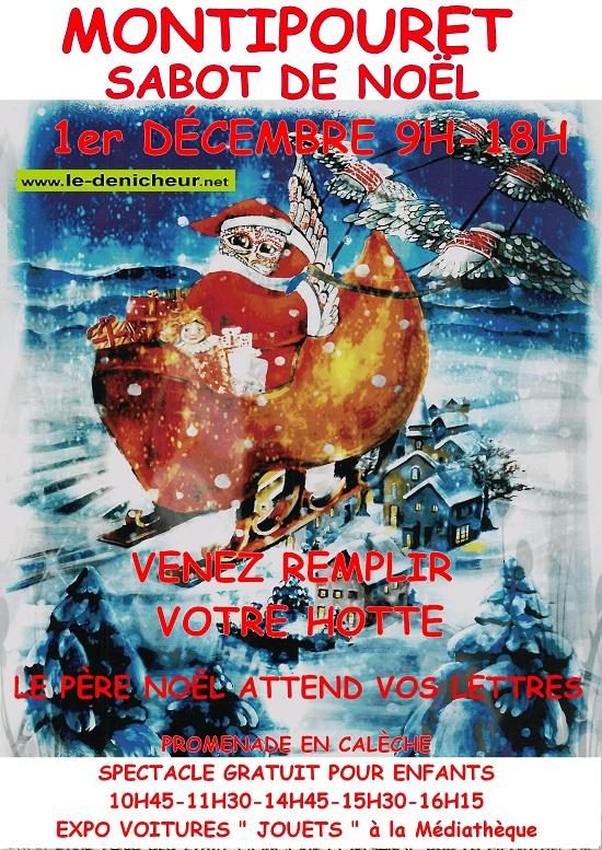 x01 - DIM 01 décembre - MONTIPOURET - Marché de Noël */  0011781