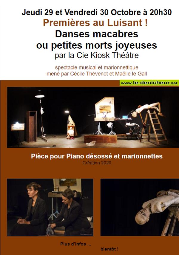 j29 - JEU 29 octobre - GERMIGNY L'EXEMPT - Spectacle musical et marionnettes  0011790