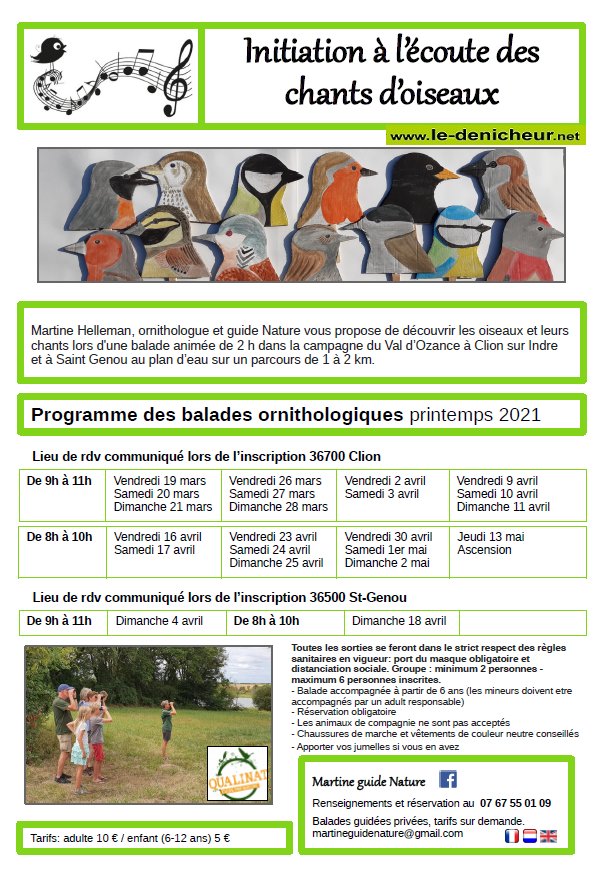 p11 - DIM 11 avril - CLION /Indre - Balade Ornithologique _* 0011823