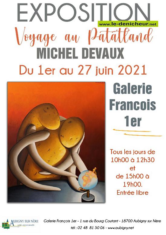 """r27 - Jusqu'au 27 juin - AUBIGNY /Nère - Exposition """"Voyage au Patatland"""" 0011830"""