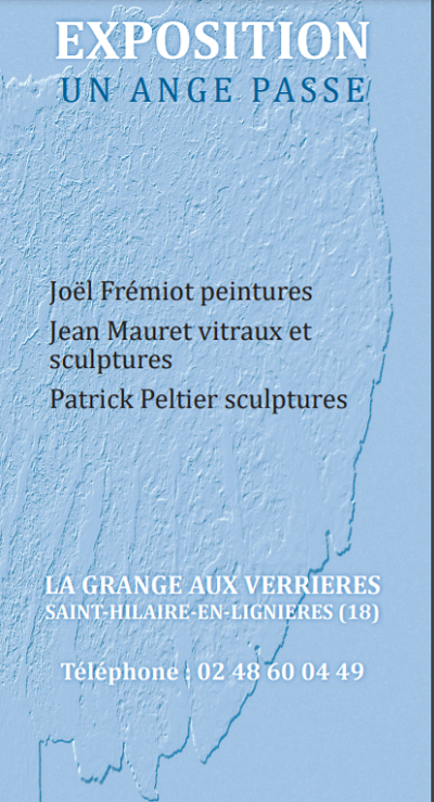 """v03 - Jusqu'au 3 octobre - ST-HILAIRE en Lignières - Exposition """"Un Ange Passe"""" 0011885"""