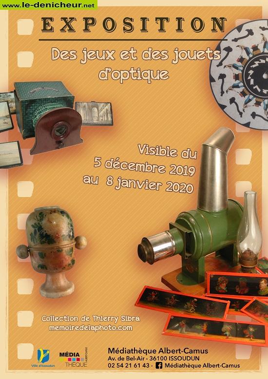 za08 - Jusqu'au 8 janvier - ISSOUDUN - Des jeux et des jouets d'optique (exposition) 0011892