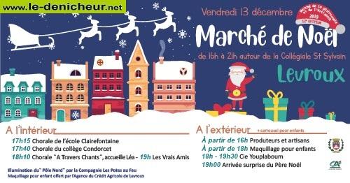 x13 - VEN 13 décembre - LEVROUX - Marché de Noël * 0011905