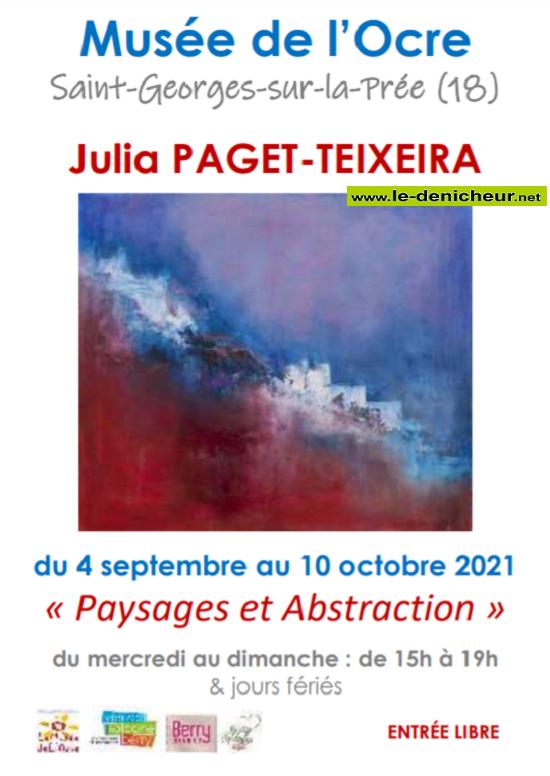 v10 - Jusqu'au 10 octobre - ST-GEORGES /la Prée - Expo: Paysages et abstraction _* 0011952