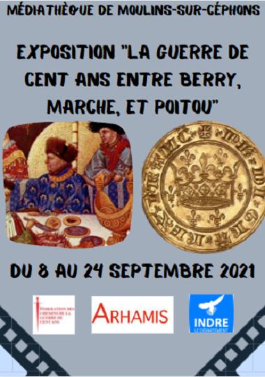 u24 - Jusqu'au 24 septembre - MOULINS /Céphons - Expo: La guerre de cent ans . . . 0011954