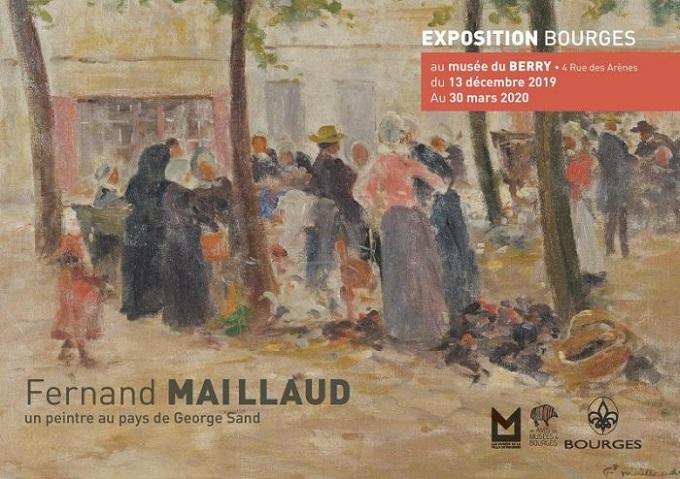 c30 - Jusqu'au 30 mars - BOURGES - Fernand Maillaud, un peintre au pays de George Sand 0012016