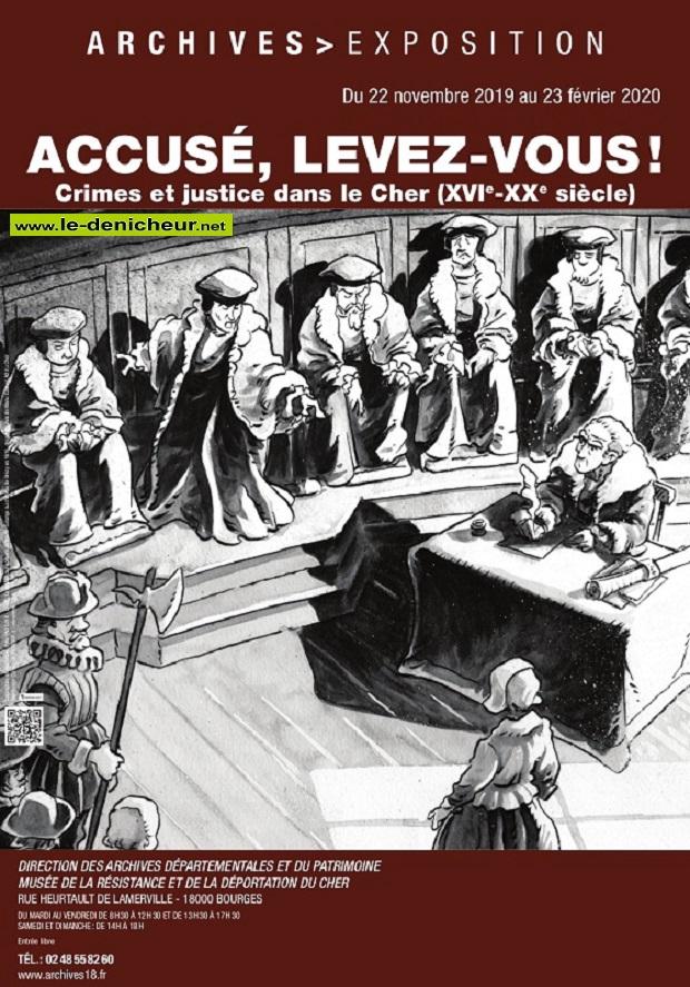 b23 - Jusqu'au 23 février - BOURGES - Accusé, levez-vous ! (exposition) 0012017