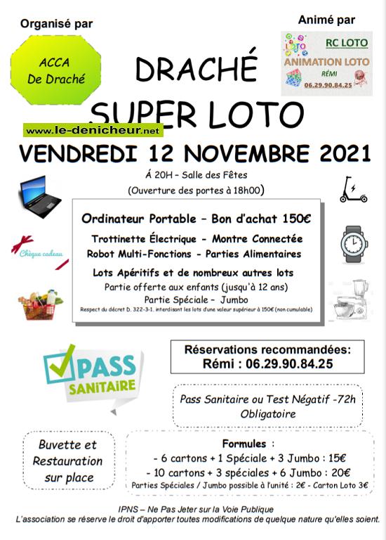 w12 - VEN 12 novembre - DRACHE - Loto de l'ACCA _* 0012038