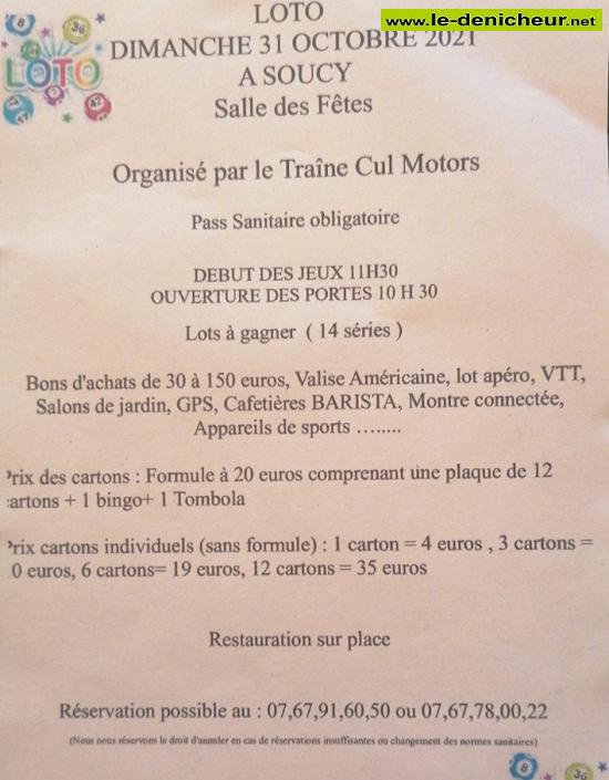 v31 - DIM 31 octobre - SOUCY - Loto du Traine Cul Motors  0012039