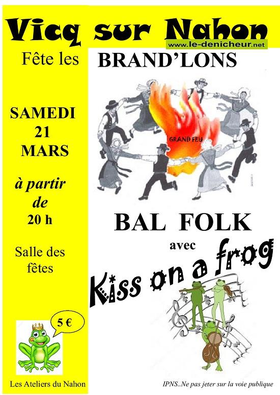 c20 - SAM 21 mars - VICQ /Nahon - Fête des Brand'lons* / 0012114