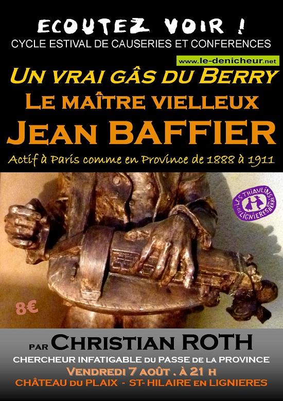 h07 - VEN 07 août - ST-HILAIRE en Lignières - Ecoutez voir ! 0012264