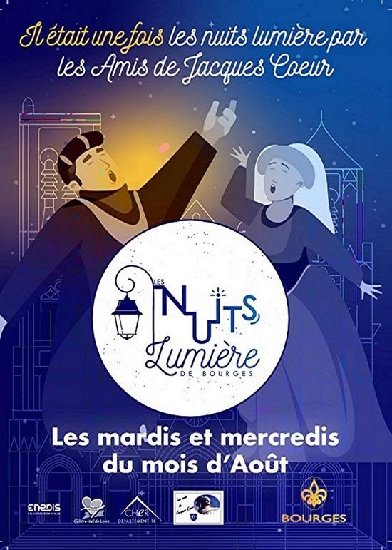 h11 - MAR 11 août - BOURGES - Les Nuits Lumière par les amis de Jacques  Coeur 0012363