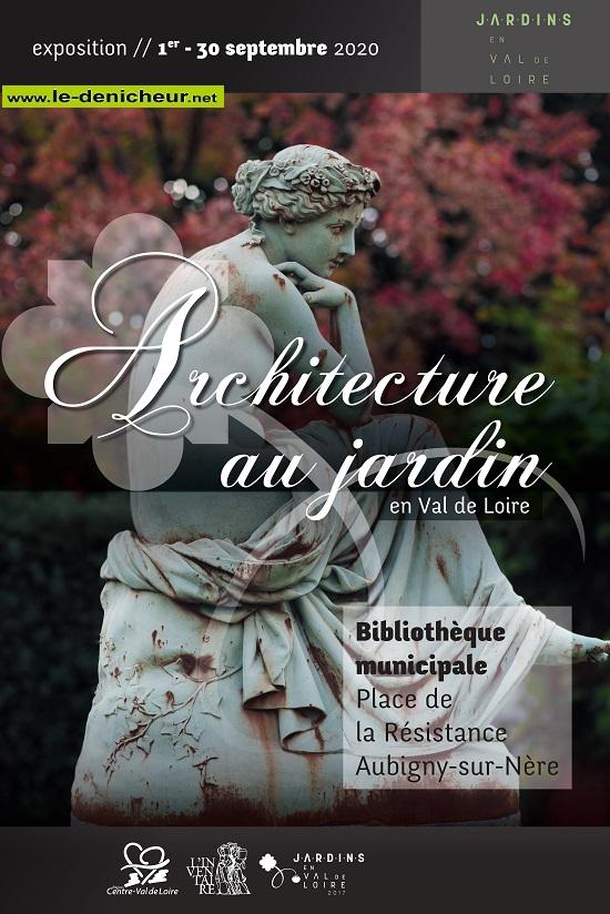i30 - Jusqu'au 30 septembre - AUBIGNY /Nère - Exposition: Architecture au jardin 0012452