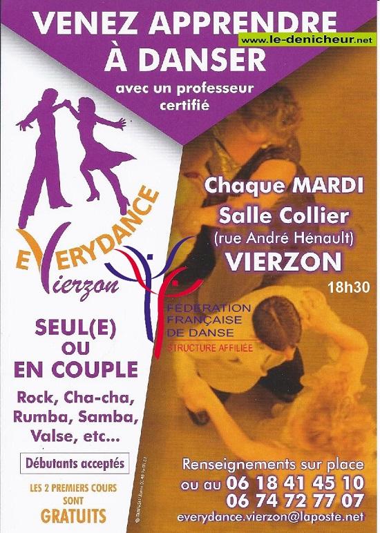 MAR 08 septembre - VIERZON - Reprise des cours de danse  0012467