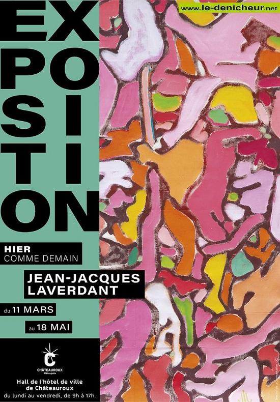 """q18 - Jusqu'au 18 mai - CHATEAUROUX - Exposition """"Hier comme demain""""  0012653"""