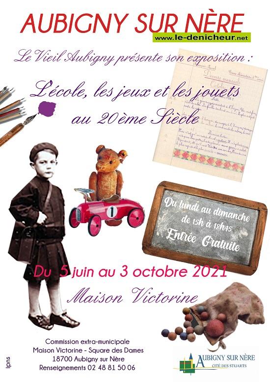 v03 - Jusqu'au 3 ocvtobre - AUBIGNY /Nère - Exposition du Vieil Aubigny _* 0012668