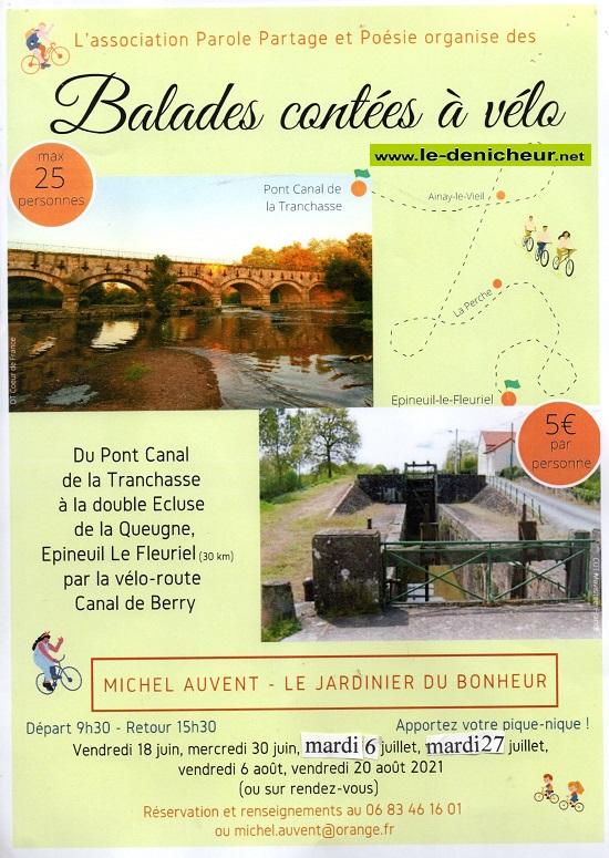 t06 - VEN 06 août - COLOMBIERS - Balade contée à vélo (canal de Berry) 0012786