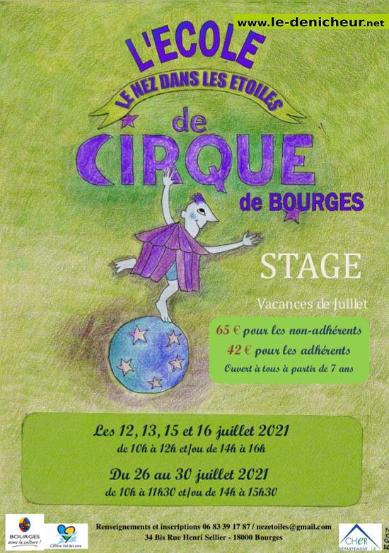 s26 - Du 26 au 30 juillet - BOURGES - Stage Ecole de Cirque 0012810