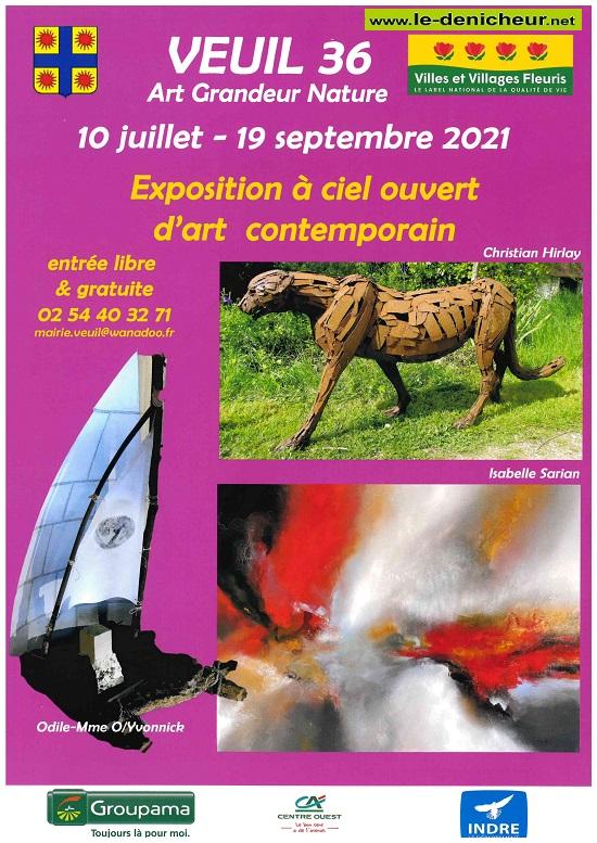 u19 - Jusqu'au 19 septembre - VEUIL - Exposition à ciel ouvert  */ 0012850