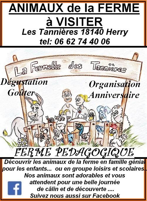 JUIN 2021 -  HERRY - REOUVERTURE DE LA FERMETTE DES TANNIERES 0012873