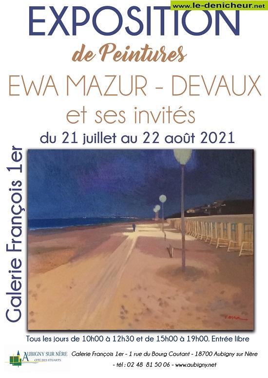 t22 - Jusqu'au 22 août - AUBIGNY /Nère - Exposition de peintures_* 0012884