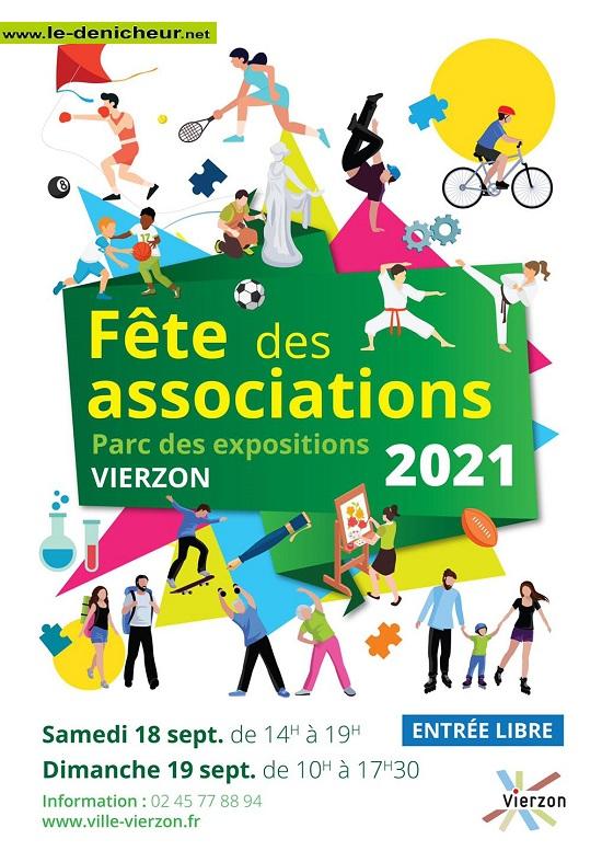 u19 - DIM 19 septembre - VIERZON - Fête des Associations * 0013084