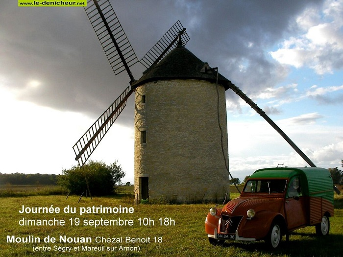 u19 - DIM 19 septembre - CHEZAL-BENOIT - Journées Européennes du Patrimoine * 0013086
