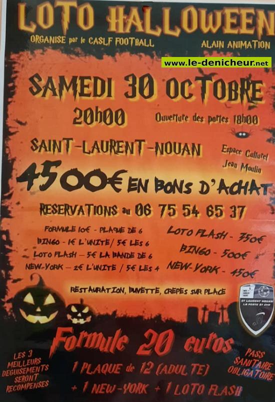 v30 - SAM 30 octobre - ST-LAURENT NOUHAN - Loto du foot 0013189